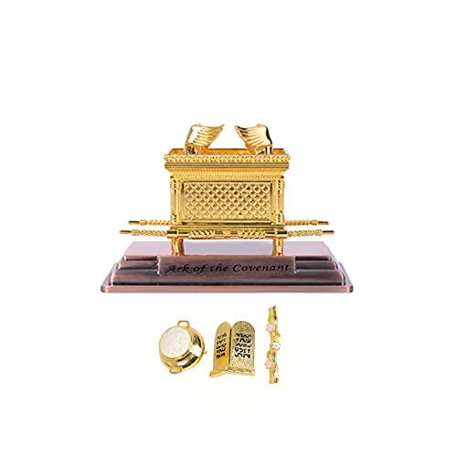 BRTAGG - Estatua del Arca de la Alianza chapada en Oro con...