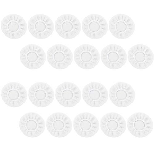 Opplei polijstschijven 10/20 stuks herbruikbare wol volledig omkeerbaar auto polijstpad set polijstspons polijstschijf voor binnenhuisarchitectuur slijpmachine autofabrikant metaal auto accessoires