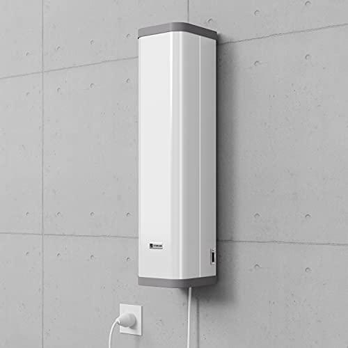 Lámpara desinfectante UV-C STERILON AIR 72W – Ejecución sobre carrito/ruedas y asa, contador de tiempo de trabajo, función Eco (funcionamiento silencioso) y cable de 3 m para enchufe.