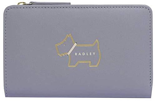 Radley Grey Heritage Dog Medium Bifold Purse