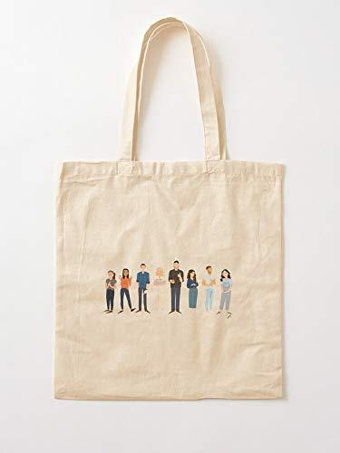 deadw Test Ba Chefs Kitchen Canvas Tote Umhängetasche Stylish Shopping Casual Bag Faltbare Reisetasche