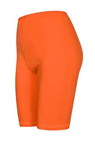 Galaxie Kinder Radlerhose, Orange, 134