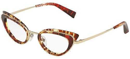 Alain Mikli Brillen Gafas de Vista PAVEE 0A02029 RED HAVANA 50/21/140 Damen