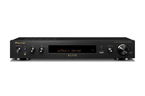 Pioneer Elite SX-S30 Slim Home Audio and Video Receiver - Black