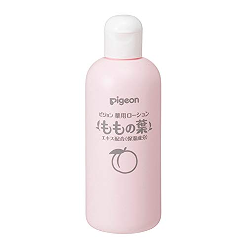 Baby Japan Pigeon Medicated Lotion Leaves Of Peach 200ml - From 0 Year Olds (Green Tea Set)