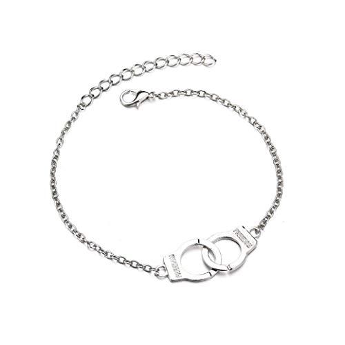 PULABO Gold Silber Knöchel Armband Frauen Fußkettchen verstellbare Kette Fuß Strand langlebig und nützlich Beliebt