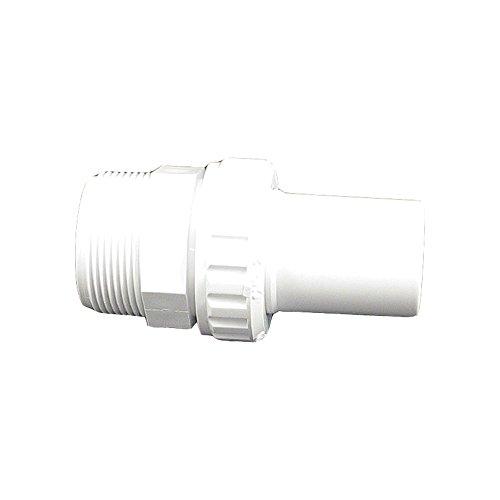 Custom 21058-100-000 3,81 cm Tuyau Lisse Barb x MIP Econ Union