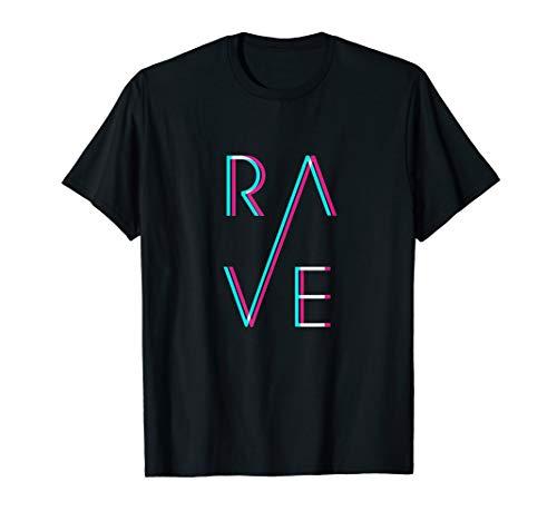 RAVE Trippy Techno EDM Trance Goa Festival T-Shirt