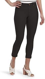 HUE Women's Essential Denim Jean Capri Leggings, Assorted