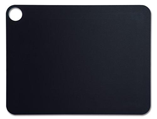 Arcos-Schneidebrett, Faser, Schwarz, mehrfarbig, 45cm x 33cm