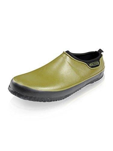 Dirt Boot Neoprene CARP Fishing Waterproof BIVVY Slippers/Shoe Garden Clog (UK 12 EU(46)) Green
