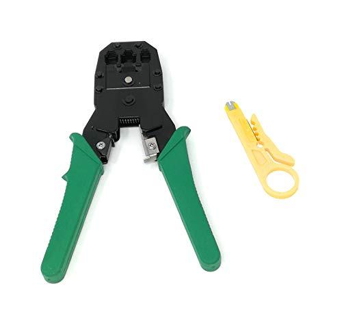 tempo di saldi Pinza Crimpatrice Plug RJ11 RJ12 RJ45 4 6 8 Poli Per Cavo Di Rete Ethernet Lan