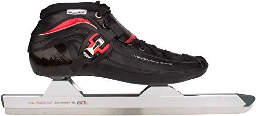 SCHREUDERS SPORT Nijdam Pro-Line Leder Low-Heat-mouldable Carbon Speed Skate 56 schwarz/rot/weiß