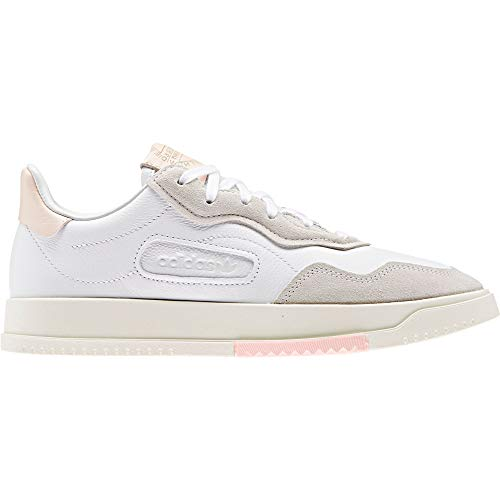 adidas Originals SC Premiere W, Cloud White-Cloud White-Icey Pink, 5