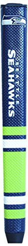 Team Golf NFL Seattle Seahawks Golf Putter Grip with Removable Gel Top Ball Marker, Durable Wide Grip & Easy to Control