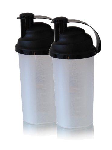 Top de huevo-coctelera de doble-Pack incluido de impacto de colador para agrupa los al aire libre de proteínas Shake/de huevo batido: Amazon.es: Hogar