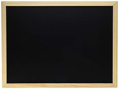 Darice 9 172-76 Negro con Marco de Madera, 30,48 cm por 40,64 cm