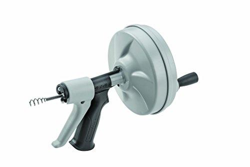 RIDGID 57038 handgrasmaaier Kwik-spin met AUTOFEED, Sturatuble-kabel met binnenkern (IC) C-1 en haringen