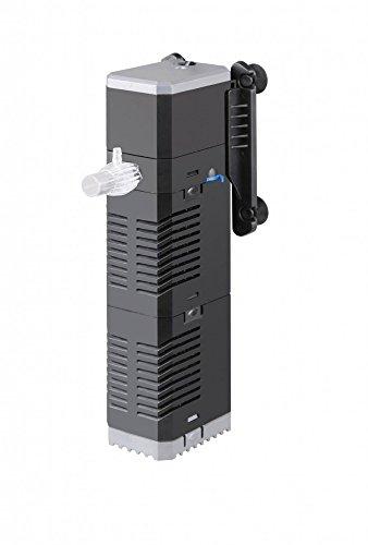 AquaOne CHJ 602 Aquarium Innenfilter Regelbar Bis 250 Liter Aquarien Nano Cube Eckfilter Pumpe Filter Schwammfilter