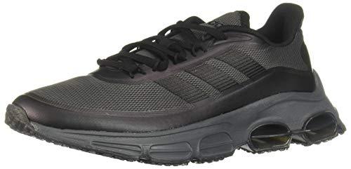 adidas Damen Quadcube Laufschuhe, Schwarz Core Black Core Black Grey Six, 36 EU