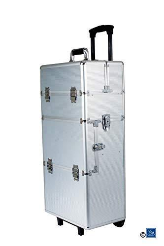 Chadog Valise de toilettage Amovible Aluminium