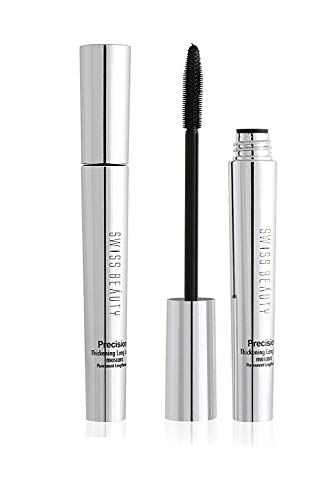 Swiss Beauty Precision Thickening Long Lash Deep Black Mascara - 10mL
