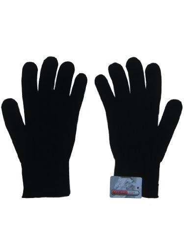 Thermolite - Forro térmico para guantes, color negro, talla única, elásticos