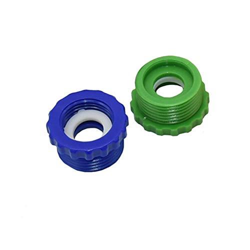 Expandir La junta de expansión de la manguera de c Rosca interna de 1/2' a 3/4' rosca externa conjunta, rosca externa 1' a 3/4' rosca interior de riego por goteo instalación de tuberías, con 5 conecto
