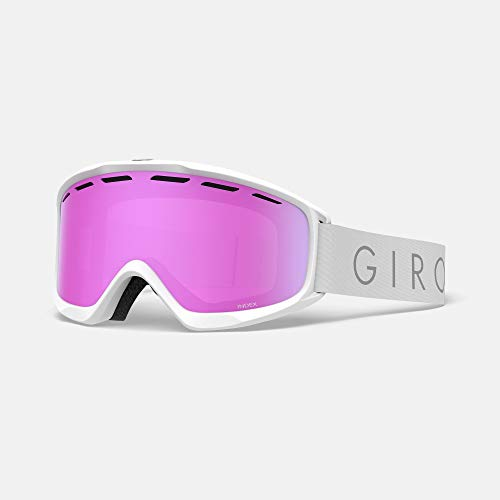 Giro Index Masque de Ski pour Homme, Homme, Blanc/Rose, Taille Unique