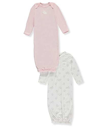 Carter's Baby Girls' 2-Pack Bunny Gowns Newborn