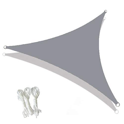 Geen logo Outdoor Terras Zonwering Doek Anti-UV Awning Zonwering Driehoekige Ademende Luifel Luifel Outdoor Shelters Zonwering Zeilen Strand Zonwering Luifels Voor Tuin Auto Camping