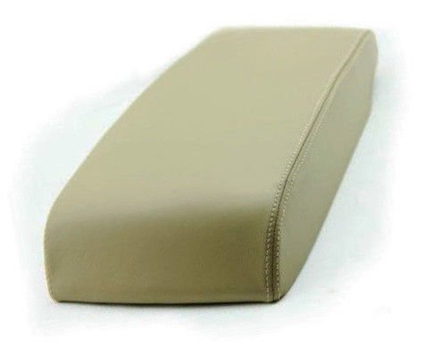 Fits 2005-2010 Toyota Avalon Synthetic Beige Leather Center Console Armrest Cover . (Skin Only)