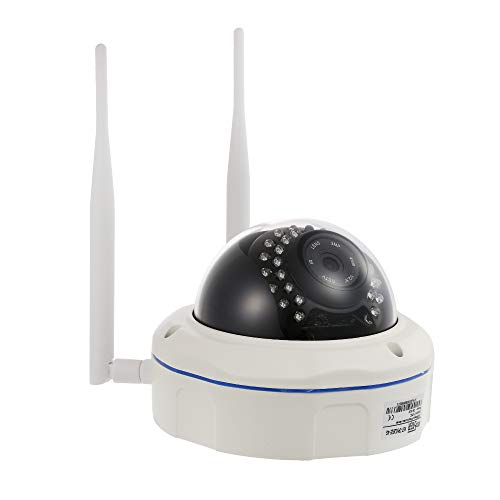 OWSOO Cámara IP Inalámbrico 720P 4G IR-Cut Visión Nocturna 3G gsm Impermeable Cámara de Vigilancia CCTV Exterior con Ranura para Tarjeta SIM