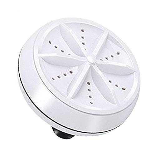 ANUAN Mini lavadora 10 W USB alimentado portátil compacto Turbo lavadora giratoria personal para viajes en casa negocios