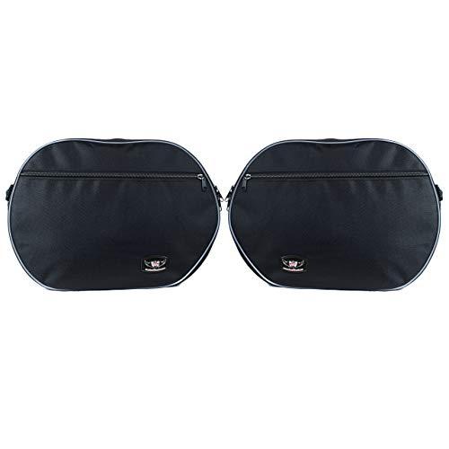 GREAT BIKERS GEAR - 1 Paar Koffer Innentaschen Fur Yamaha FJR1300, TDM900, Gepäckträgertaschen, Motorradreisetasche | Packtasche | Innentaschen Packtaschen
