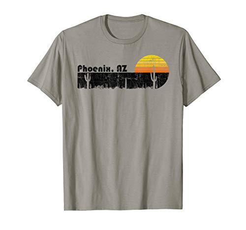 Retro Phoenix Arizona Desert Sunset Vintage T-Shirt