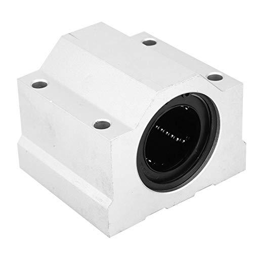 L-MEIQUN, SC40UU 40mm Aluminio Linear Movimiento Bola Bloque de Diapositiva CNC Unidad Lineal Ball Rodamientos Rodamientos Guia Lineal