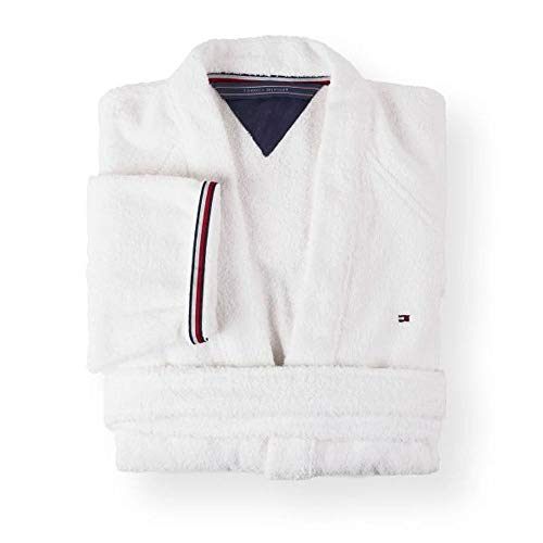 Tommy Hilfiger Kimono Uni Serie Größe XXL Farbe White