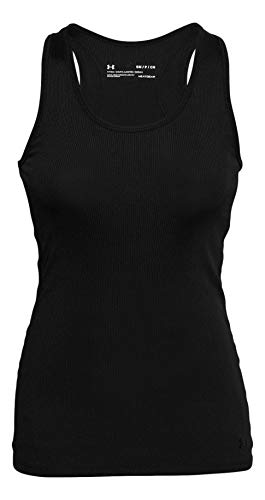 Under Armour Women's Victory Tank Top (Black/Black, Small)