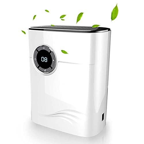 1200ML Portable Deshumidificador Silencioso Deshumidificador Eléctrico Bajo Consumo y Cuarto Seguro Evite Bacterias y Humedad Perfecto...