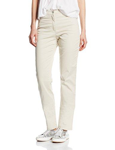 BRAX Damen Straight Leg Hose CAROLA SPORT, Beige (NATURE 56), W27/L32 (Herstellergröße: 36)