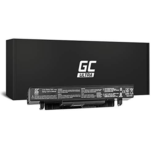 Green Cell Ultra A41 X550 A41 X550A Akku fur Asus Laptop 3400mAh 144V Schwarz