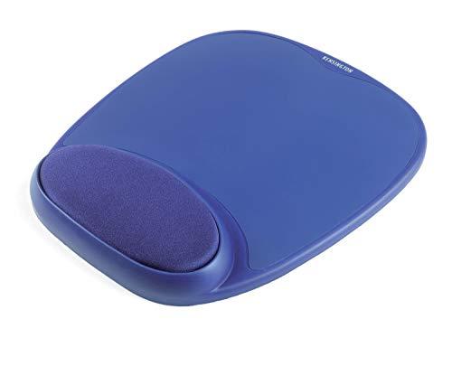 Kensington 64273 Mauspad mit Gel (Kompatibel mit Laser- und optischer Maus (207 x 25 x 248 mm) blau