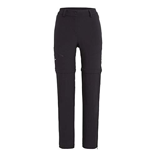 Salewa TALVENA 2 DST W 2/1 Pantalon Femme, Black Out, FR : M (Taille Fabricant : 44/38)