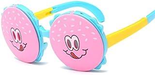 Weichunya - Weichunya - Gafas de sol polarizadas de silicona ultra suave para niños (color: rosa)