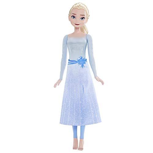 Disney La Reine des Neiges 2 - Poupee Princesse Elsa Lumière Aquatique - 27 cm