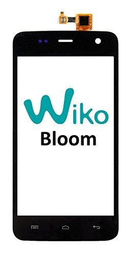 Prevoa ® 丨brand New Katezone-Cristal de pantalla táctil de repuesto para Wiko Bloom de 4,7 pulgadas-Smartphone (Se vende sin LCD) -