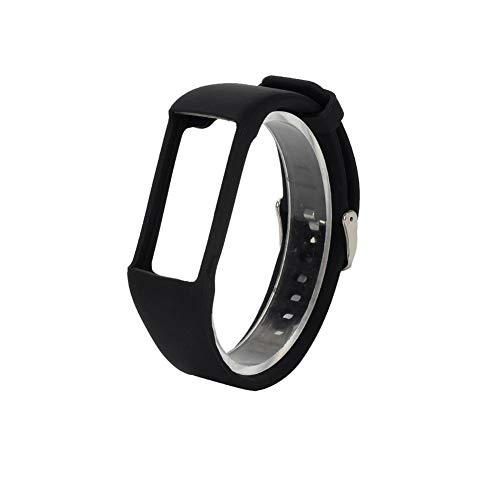 AJEERD Soft Replacement Wristband for Polar M400 M430 Smart Watch, Silicone Watchband Strap with Polar A360 A370 Tracker