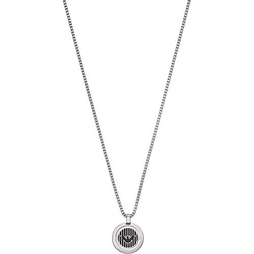 Emporio Armani mens stainless steel Not Applicable Applicable Necklaces