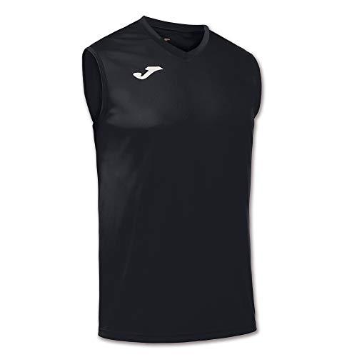 Joma Combi Camiseta Entrenamiento, Hombres, Negro, M